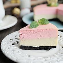 火龙果重芝士双层蛋糕