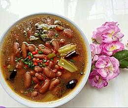 腌菜红豆的做法