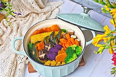 健康低脂的粗粮蒸菜