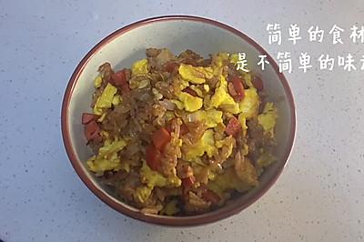 米饭拌一拌 轻松做炒饭-蛋炒饭