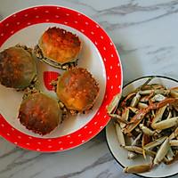 二味烤蟹的做法图解5