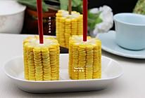 刮油食物,蜜汁烤玉米棒的做法