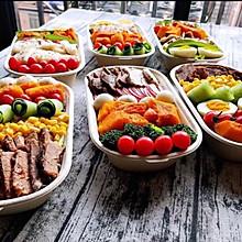 轻食沙拉减脂餐