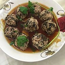 梅干菜肉丸