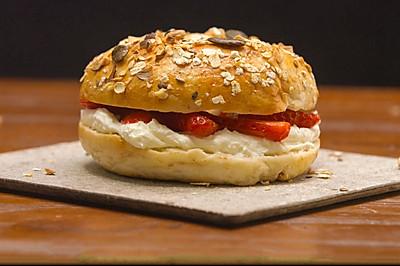 贝果,时髦的面包吃法,每天不重样