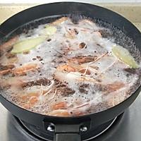 """盐水煮大虾#在""""家""""打造ins风美食#的做法图解5"""