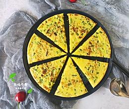 #餐桌上的春日限定#虾皮葱花饼~的做法