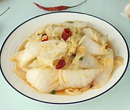这才是酸辣白菜的正确做法,酸辣开胃还下饭,端上桌家人抢着吃