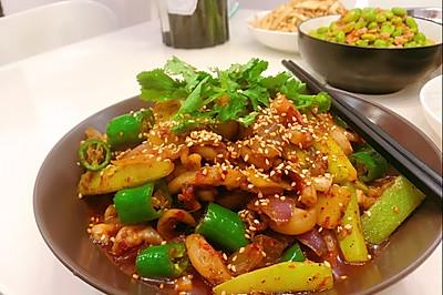厨房小白也能做出大师味—干锅鱿鱼须