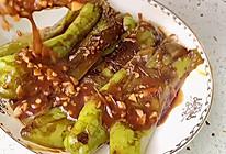 #巨下饭的家常菜#虎皮尖椒 轻松吃掉一个馍的做法