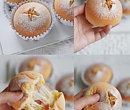 ㊙️巨好吃一次发酵拉丝培根芝士面包的做法