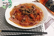 西红柿洋葱焖牛肉的做法