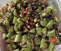 下饭四季豆橄榄菜的做法