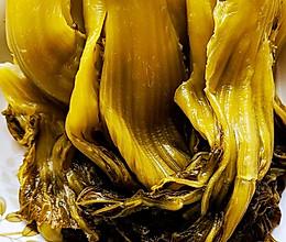 自制淘米水酸菜的做法
