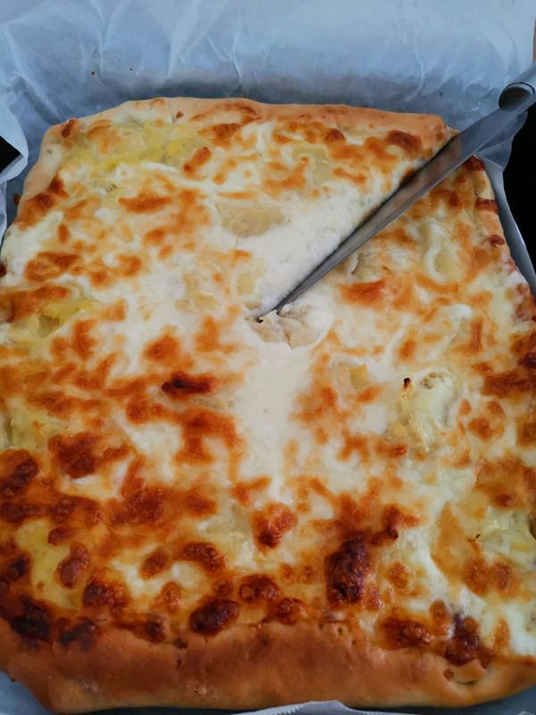 吃不腻的榴莲披萨的做法