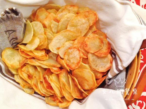咔滋咔滋 炸薯片 #带着零食去旅行!#
