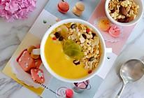 #夏日消暑,非它莫属#南瓜牛奶燕麦脆【夏日早餐】的做法