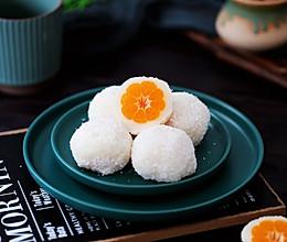 #换着花样吃早餐#橘子糯米丝的做法