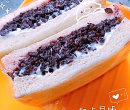 紫米面包的做法