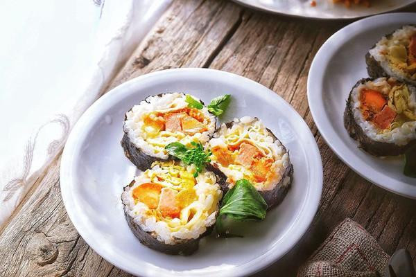最好吃的 紫菜包饭 附小秘诀的做法