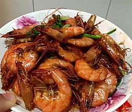 简单红烧虾的做法