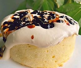 海盐爆浆蛋糕的做法