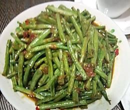 素炒豇豆角的做法