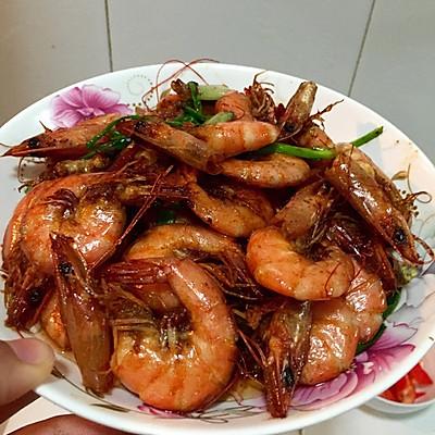 简单红烧虾