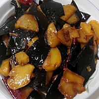 土豆烧海带的做法图解9