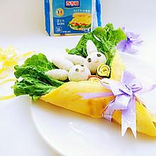 小兔花束便当#百吉福食尚达人#