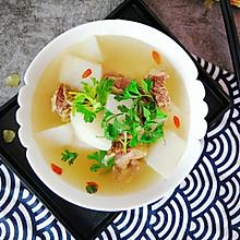 #今天吃什么#清炖牛排骨, 驱寒暖身它在行