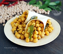 【印式鹰嘴豆零嘴】Kacang Putih的做法