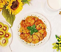#十分钟开学元气早餐#营养美味~土豆泥饼的做法