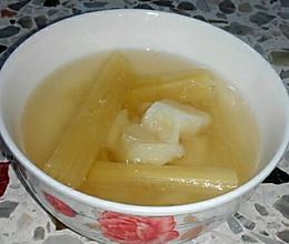 四季咳嗽之初食疗:止咳润肺马蹄甘蔗饮的做法