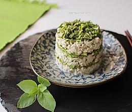 春日小食--香椿拌豆腐的做法