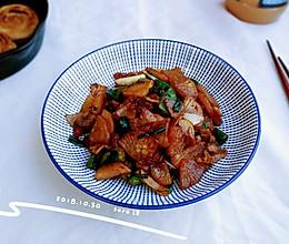 椒肉蚝生白萝卜的做法