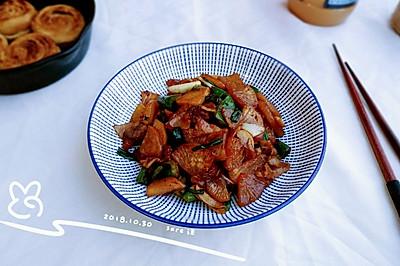 椒肉蚝生白萝卜