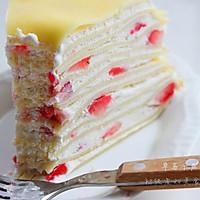 草莓,芒果千层蛋糕的做法图解21