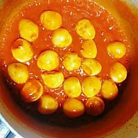 #童年不同样,美食有花样#茄汁鹌鹑蛋的做法图解7