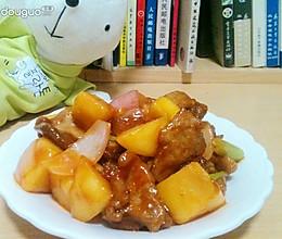 水果锅包肉的做法