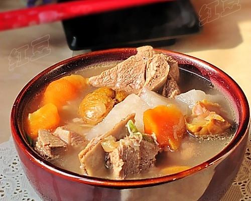 韩式猪骨汤的做法