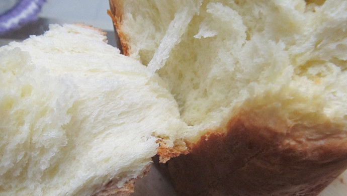 面包机做全蛋牛奶土司