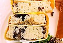 蛋包三明治的做法