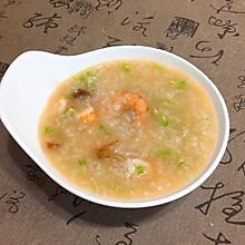 香菇芹菜虾粥