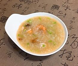香菇芹菜虾粥的做法