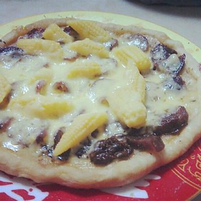 微波炉披萨的做法 步骤5