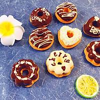 巧克力甜甜圈海绵蛋糕的做法图解18