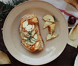 香煎冬笋三明治早餐的做法