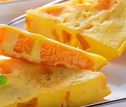 芒果鸡蛋饼 宝宝辅食食谱的做法