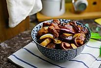 #精品菜谱挑战赛#香菇红烧肉的做法